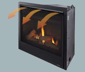 Swell Mercury Direct Vent Gas Fireplaces Majestic Products Beutiful Home Inspiration Ommitmahrainfo