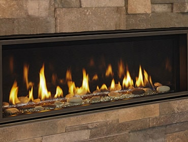 Linear Gas Fireplace >> Linear Contemporary Gas Fireplaces Majestic Products