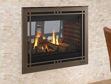 Pearl Ii See Through Direct Vent Gas Fireplace Majestic Products