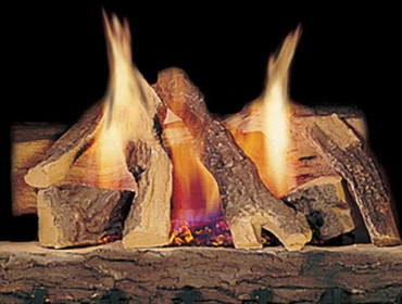 Campfire Gas Log Set