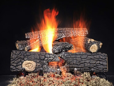 Outdoor Realwood Gas Log Set