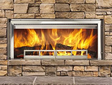 Longmire Wood Outdoor Fireplace