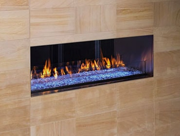 Palazzo See-Through Gas Fireplace