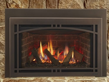 Ruby Series Direct Vent Gas Fireplace Insert