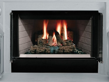Sovereign Wood-Burning Fireplace