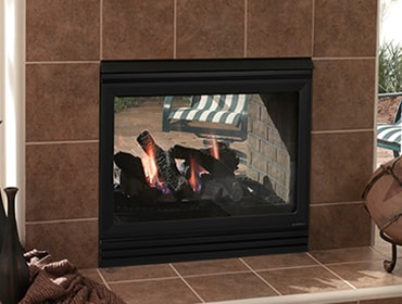 Twilight II Indoor/Outdoor Gas Outdoor Fireplace